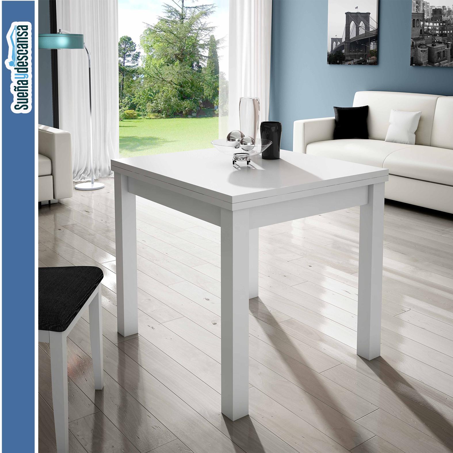 mesa libro blanca