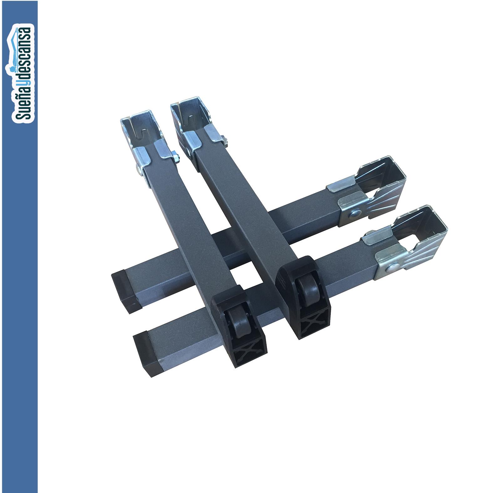 patas metalicas tubo 40