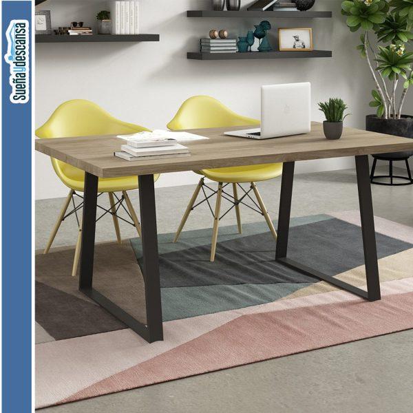 mesa comedor patas metal